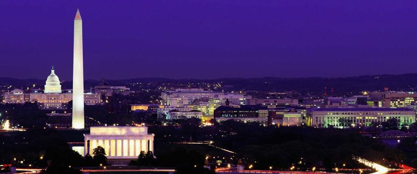 DC Skyline at night