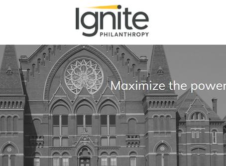 Ignite Philanthropy Makes Charitable Donation To Black Achievers Cincinnati.