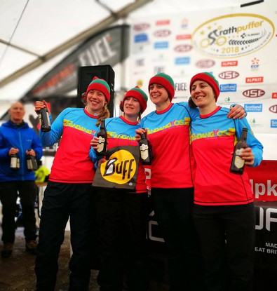 Fandangos Team at Strathpuffer