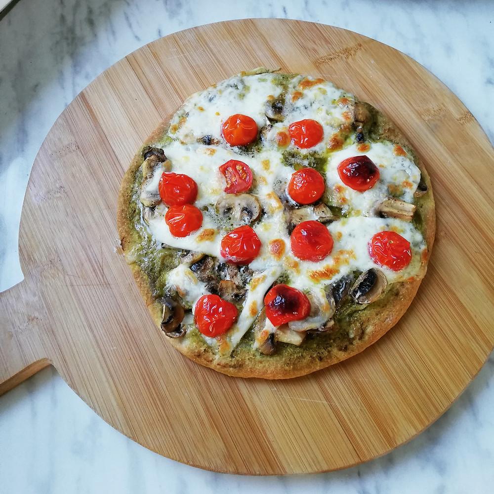 Gezond genieten van pizza! | Bloemkoolpizza | Recept | Diner | Gezond | Praktijk Marjon Kok