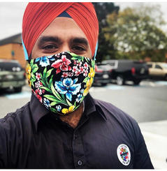 Turban Friendly Beard Mask