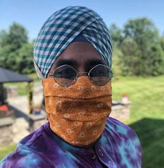 Turban Friendly Pleated Mask