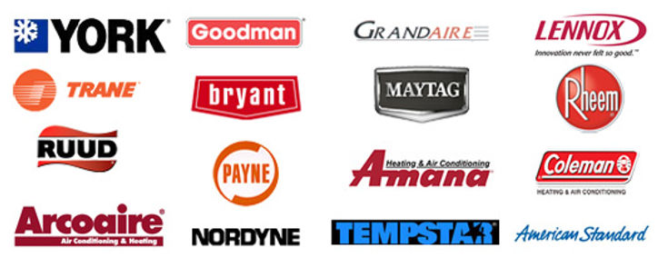 HVAC brands that we service
