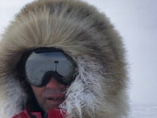 Calgary adventurer weathering a storm in Antarctica