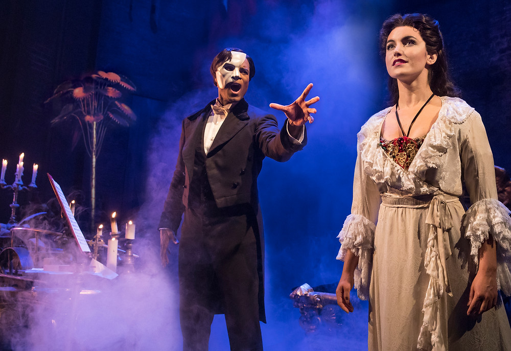 The Phantom Of The Opera - Derrick Davis and Eva Tavares - Photo via Matthew Murphy
