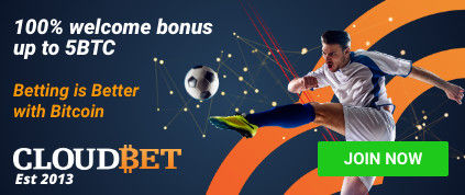 BookiesInfo Cloudbet Welcome Bonus banne