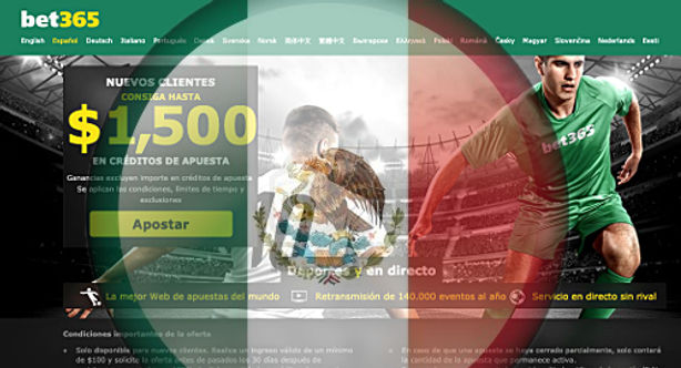 bet365, Mexico, Bettinhg, Welcome Bonus, Licence