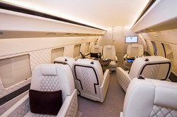 Fortune Air Global Express Interior