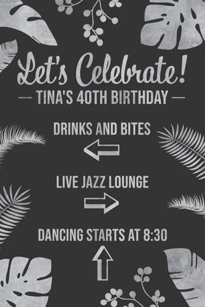 Let's Celebrate Sign