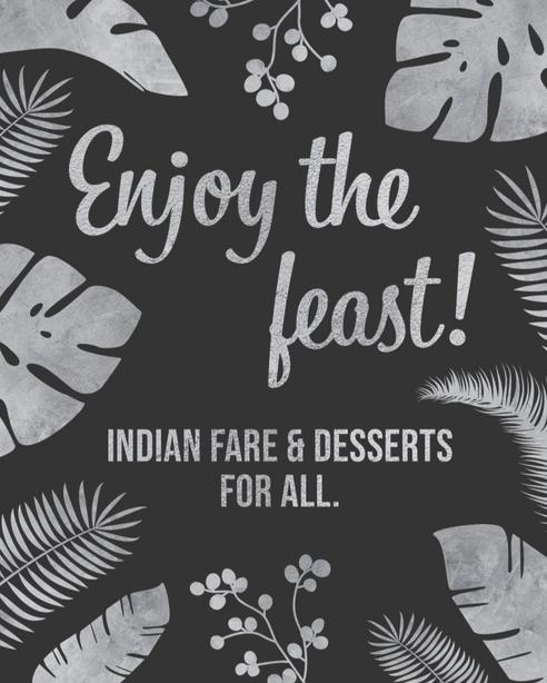 Enjoy the Feast Sign