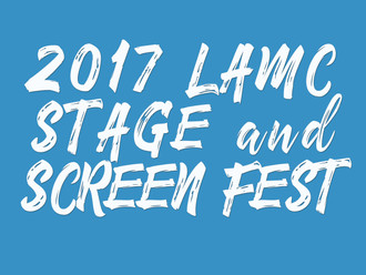 Announcing the 2017 Stage & Screen Fest