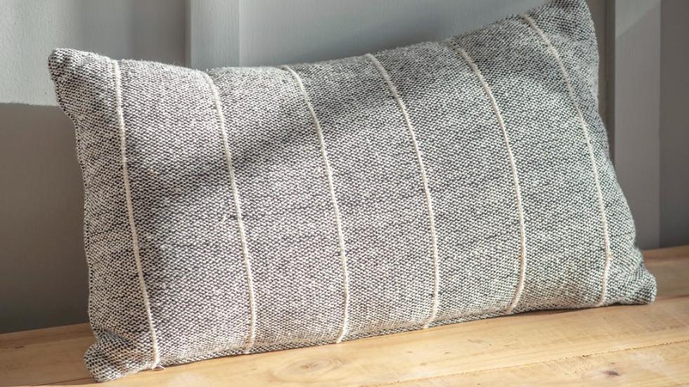 Grey stripe Cushion