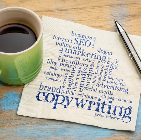 Copy Writing & Editing