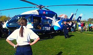 NVA Crew Lifestar Helicopter
