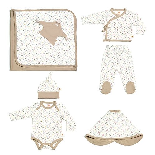 Girls Magic Forest Basic Set in Natural