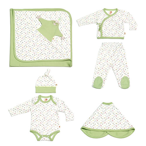 Girls Magic Forest Basic Set in Green