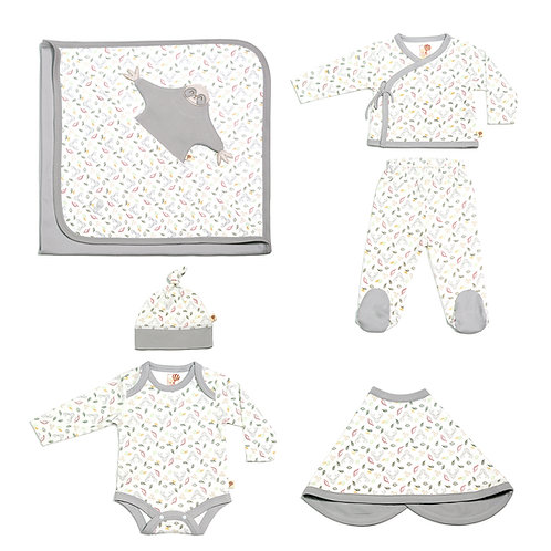 Boys Magic Forest Basic Set in Natural