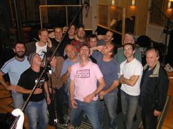 Dan Barnett album recording