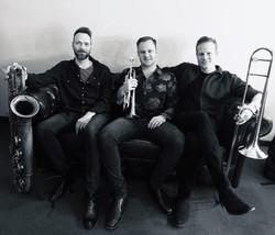 "Tim Minchin's ""Back"" tour horns"