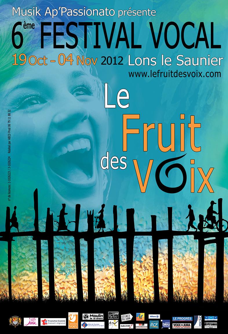 Festival le fruit des voix