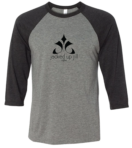 Jacked Up Jill T-shirt, 3/4 length sleeve