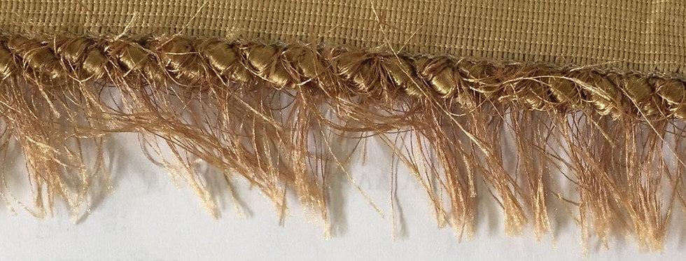 Gold Cord Eyelash Fringe