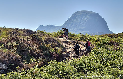 Assynt Foundation suilven_path_from_glencanisp