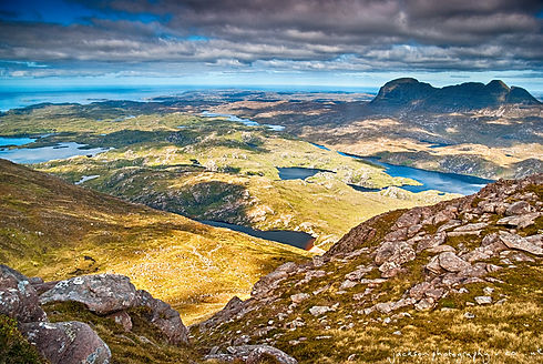 Assynt Foundation view from cul mor