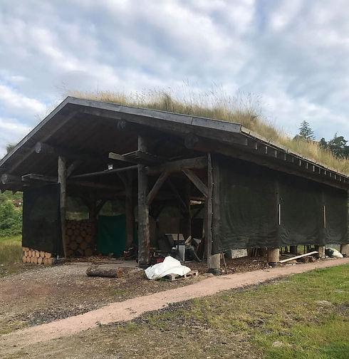 Assynt Foundation pole barn