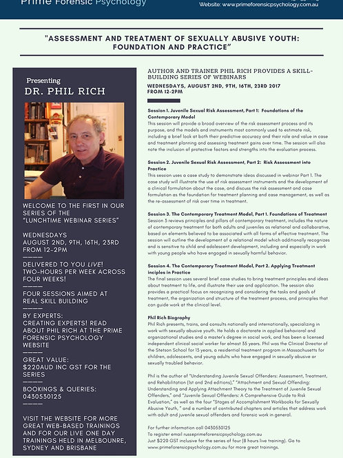 Phil Rich Lunchtime Webinar Series