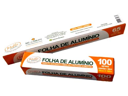 ROLO DE PAPEL ALUMÍNIO MELLO