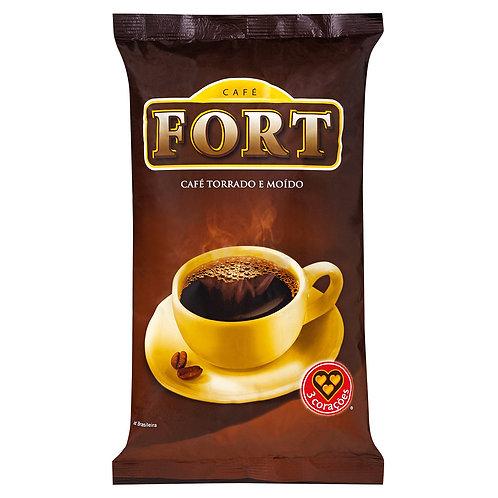 CAFE EM PÓ FORT 3 CORAÇÕES