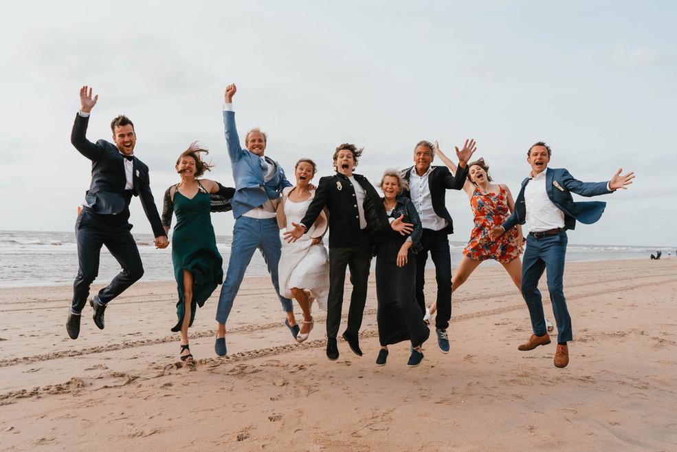 Groepsfoto Bruiloft ideeën