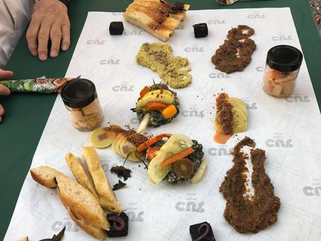 """Le dîner du futur """"Je suis ce que je mange"""" par Leila Delarive"""
