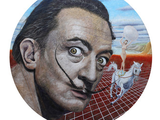Custom-made Paradise             (Portrait of Salvador Dali)