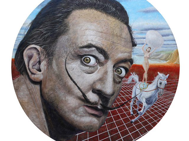 Custom-made Paradise             (Portrait of Salvador Dali)