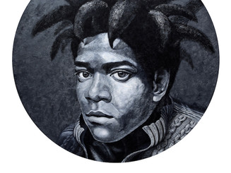 Portrait of Jean-Michel Basquiat,