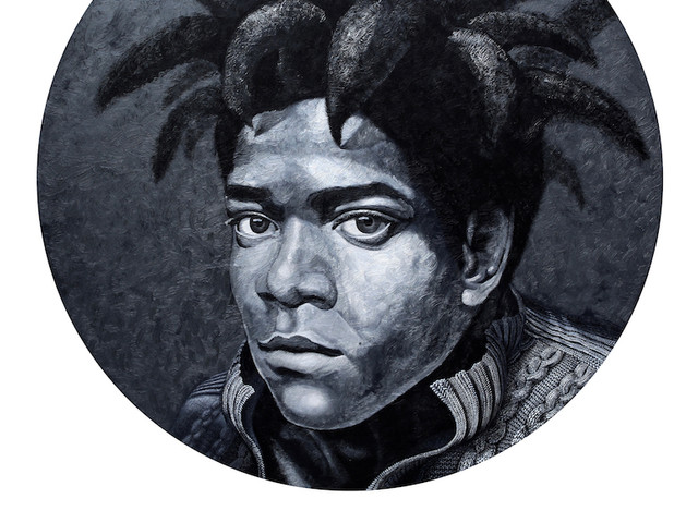 Portrait of Jean-Michel Basquiat,