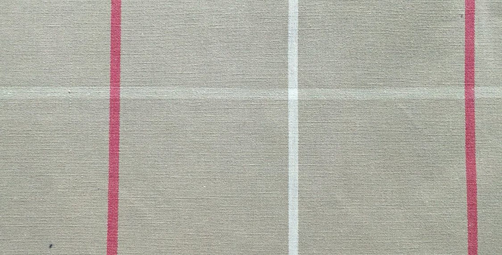 Large Scale Plaid - Pink - White - Taupe