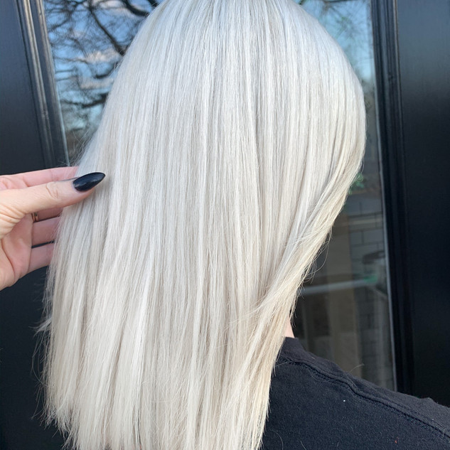 White Blonde by Jamie