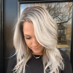Rooted White Blonde by Jamie