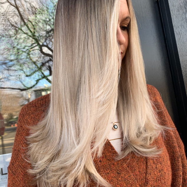Deep Root Balayage by Jamie