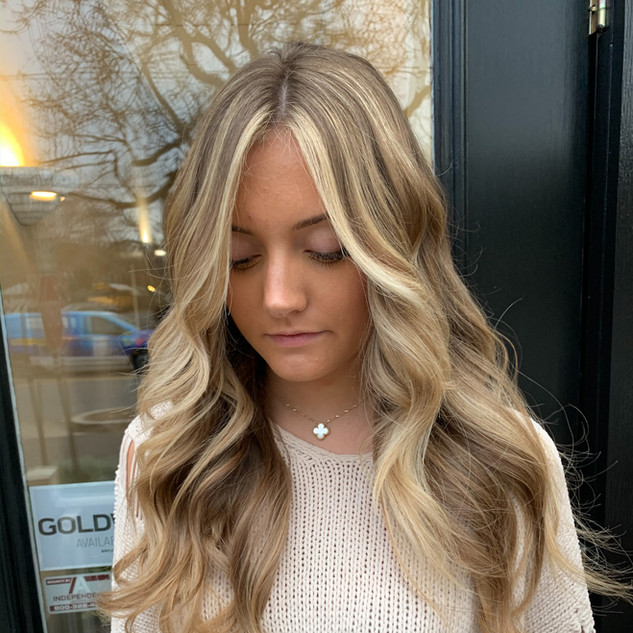 Money Piece Balayage by Jamie