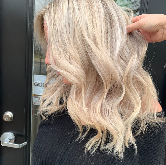 Bright Blonde by Jamie