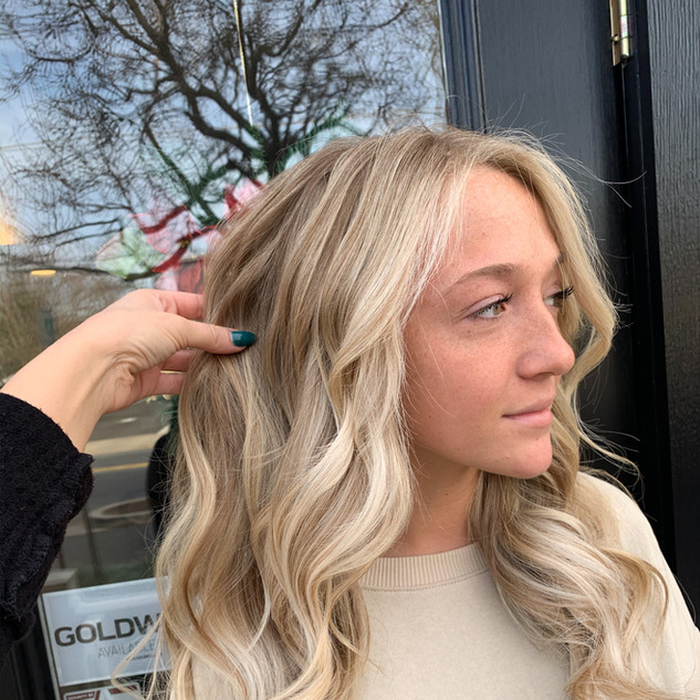 Blonde Balayage by Jamie