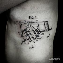 schéma tattoo