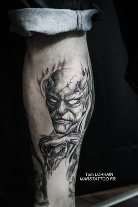 demon tatouage