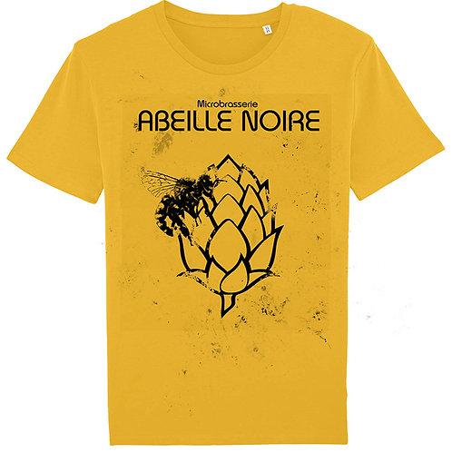T-shirt jaune Abeille Noire