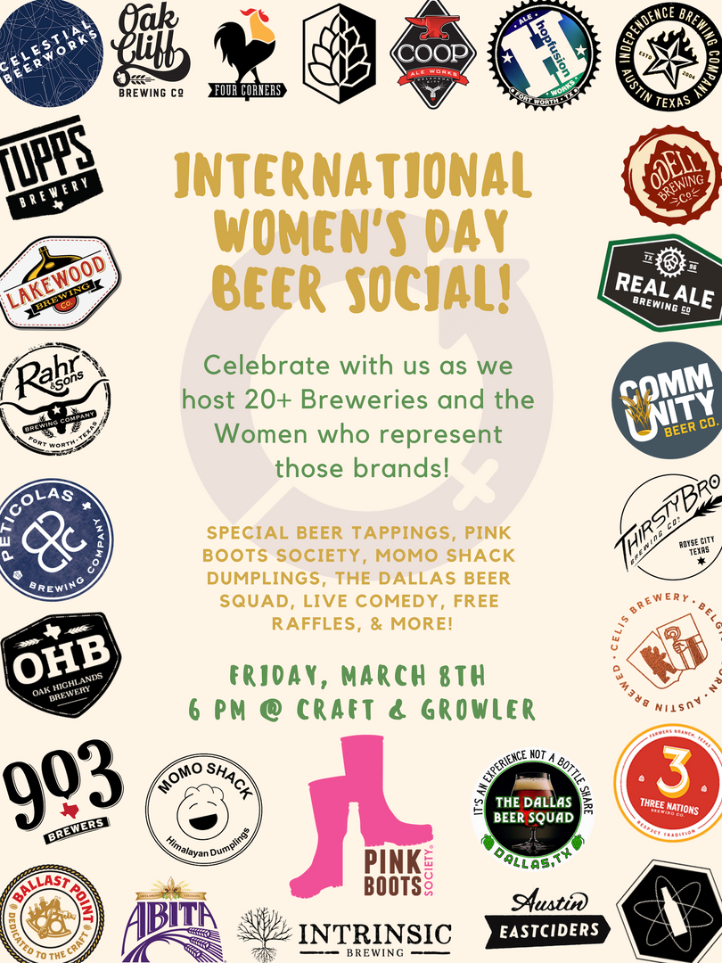 International Women's Day at Craft and G