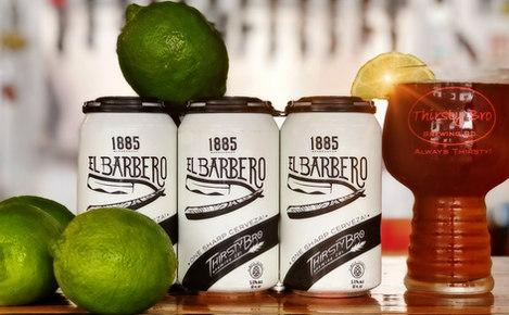 1885 Barbershop El Barbero, Mexican Cerveza